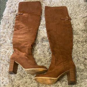 Forever 21 Thigh High Boots 7.5